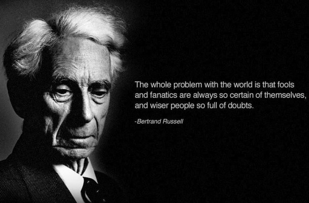 knowledge and wisdom essay by bertrand russell